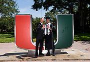 2017 Miami Hurricanes Graduates Photo Day