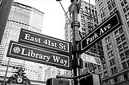 NEW YORK  2020V10<br /> Streetsigns of New York.<br /> <br /> Foto: Per Danielsson/Projekt.P