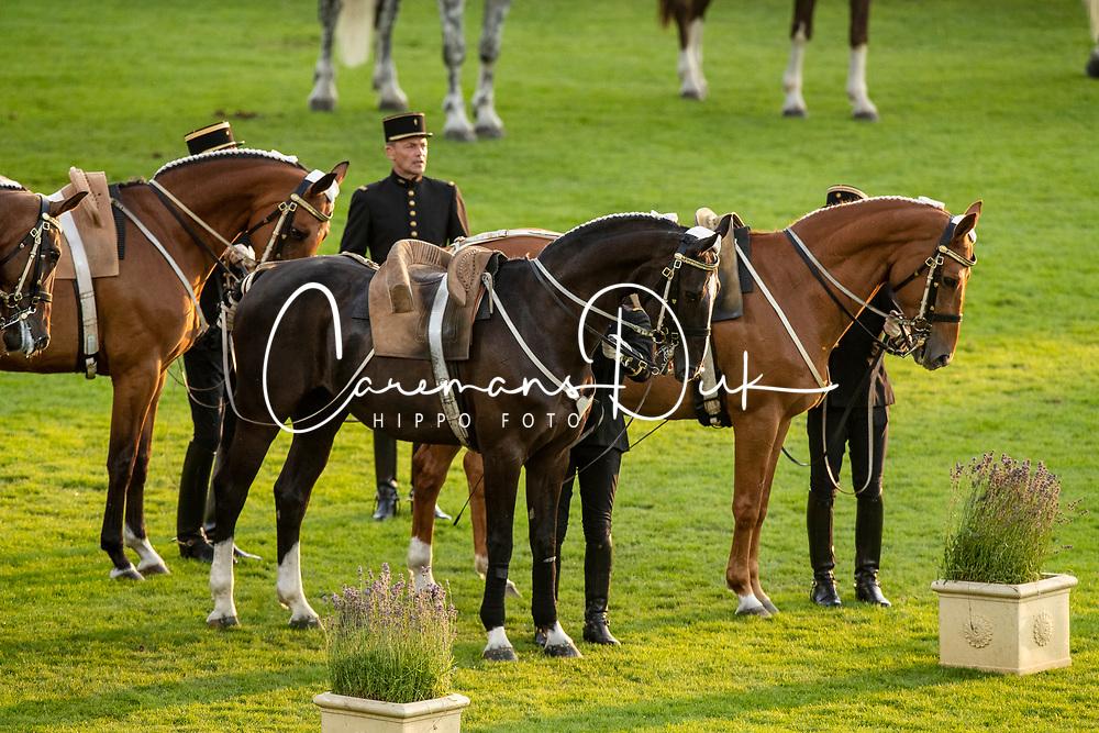 Opening ceremony, Cadre Noir de Saumur<br /> CHIO Aachen 2019<br /> Weltfest des Pferdesports<br /> © Hippo Foto - Dirk Caremans<br /> Opening ceremony, Cadre Noir de Saumur