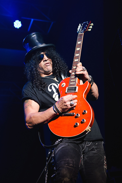 Photos of Slash featuring Myles Kennedy & The Conspirators performing live on the World On Fire Tour 2014 at Laugardalshöll in Reykjavik, Iceland. December 6, 2014. Copyright © 2014. Matthew Eisman. All Rights Reserved