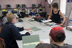 Entry 2 Employment Programme Coordinator instructing students; Sycamore Centre Nottingham ,