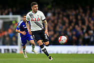 Kyle Walker of Tottenham Hotspur in action.Barclays Premier league match, Chelsea v Tottenham Hotspur at Stamford Bridge in London on Monday 2nd May 2016.<br /> pic by Andrew Orchard, Andrew Orchard sports photography.