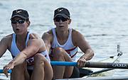 Henley-on-Thames. United Kingdom.  Women's Pair. New York Athletic Club. USA.  final. 2017 Henley Royal Regatta, Henley Reach, River Thames. <br /> <br /> <br /> 15:48:21  Sunday  02/07/2017   <br /> <br /> [Mandatory Credit. Peter SPURRIER/Intersport Images.