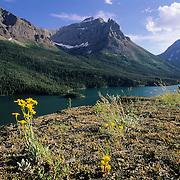 St. Mary's Lake in Glacier National Park, Montana.
