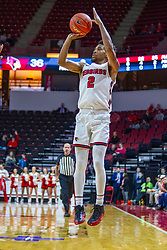 NORMAL, IL - November 29: Zach Copeland for three during a college basketball game between the ISU Redbirds and the Prairie Stars of University of Illinois Springfield (UIS) on November 29 2019 at Redbird Arena in Normal, IL. (Photo by Alan Look)