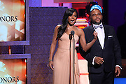 January 12, 2013- Washington, D.C- (L-R) Actress Gabrielle Union and Actor Anthony Anderson host at the 2013 BET Honors held at the Warner Theater on January 12, 2013 in Washington, DC. BET Honors is a night celebrating distinguished African Americans performing at exceptional levels in the areas of music, literature, entertainment, media service and education. (Terrence Jennings)
