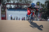 #49 (TUCHSCHERER Daina) CAN during practice at Round 9 of the 2019 UCI BMX Supercross World Cup in Santiago del Estero, Argentina