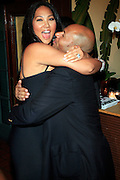 Kimora Lee Simmons and Emil Wilbekin at The Giant Magazine Party, celebrating cover girl Kimora Lee Simmons and new Editor-in-Chief Emil Wilbekin, the award-winning editor as he unveils his debut issue.