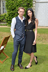 JAMIE CAMPBELL BOWER and MATILDA LOWTHER at the Cartier hosted Style et Lux at The Goodwood Festival of Speed at Goodwood House, West Sussex on 26th June 2016.
