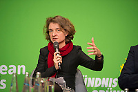 DEU, Deutschland, Germany, Berlin, 23.11.2018: Daniela Schwarzer, Director of the German Council on Foreign Relations - Research Institute. Council of the European Green Party (EGP council) at Deutsche Telekom Representative Office.