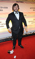 Jack Black attends the 31st annual Kennedy Center Honors, at the John F Kennedy Center for the Performing Arts in Washington, DC on December 07, 2008