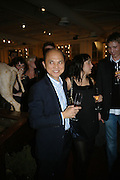 JIMMY CHOO, Book launch for ÔThe Measure' edited by Louise Clarke. 	 commissioned by the London College of Fashion. Bluebird. King's Rd. London. 21 November 2007. -DO NOT ARCHIVE-© Copyright Photograph by Dafydd Jones. 248 Clapham Rd. London SW9 0PZ. Tel 0207 820 0771. www.dafjones.com.