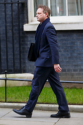 © Licensed to London News Pictures. 27/01/2015. LONDON, UK. Grant Shapps attending to a cabinet meeting in Downing Street on Tuesday, 27 January 2015. Photo credit: Tolga Akmen/LNP