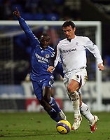 Photo: Paul Thomas.<br /> Bolton Wanderers v Chelsea. The Barclays Premiership. 29/11/2006.<br /> <br /> Claude Makalele (L) of Chelsea, Gary Speed of Bolton.