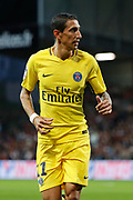 Angel Di Maria (psg) during the French championship L1 football match between EA Guingamp v Paris Saint-Germain, on August 13, 2017 at the Roudourou stadium in Guingamp, France - Photo Stephane Allaman / ProSportsImages / DPPI