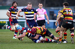 Jordan Crane of Bristol Rugby  - Mandatory by-line: Dougie Allward/JMP - 30/12/2017 - RUGBY - The Athletic Ground - Richmond, England - Richmond v Bristol Rugby - Greene King IPA Championship