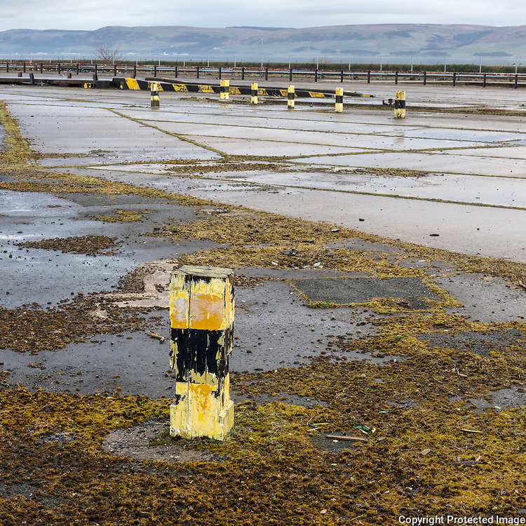 Stranraer Ferry Terminal which closed in 2011 after operating for over 150 years, Dumfries and Galloway, Scotland.