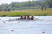 Race: 22  Event: Coxed Fours - Championship - Heat<br /> <br /> National Schools Regatta 2018<br /> Sunday<br /> <br /> To purchase this photo, or to see pricing information for Prints and Downloads, click the blue 'Add to Cart' button at the top-right of the page. The Metropolitan Regatta 2018