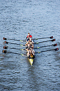 Chiswick. London. Saturday. 23.01.2016. Quintin Head. River Thames.  Thames Rowing Club Eights,  [Mandatory Credit: Peter Spurrier/Intersport-images.com]