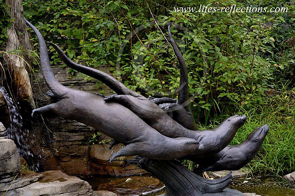River Otter Sculpture, Pittsburgh Zoo