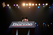 02012020 - Cedar Rapids, Iowa, USA: Democratic presidential candidate Bernie Sanders campaigns two days before the Iowa Caucus, Saturday, February 1, 2020 in Cedar Rapids, Iowa. (Photo by Jeremy Hogan/Polaris)