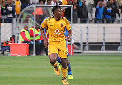Philani Zulu in the Absa Premiership match between Cape Town City and Kaizer Chiefs, Cape Town Stadium, 13 September 2017.
