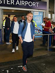 FC Barcelona goalkeeper Jasper Cillessen arrives at Manchester Airport - Mandatory by-line: Matt McNulty/JMP - 31/10/2016 - FOOTBALL - Manchester Airport - Manchester, England - Manchester City v Barcelona - UEFA Champions League - Group C