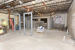 Central High School Bridgeport CT Expansion & Renovate as New. State of CT Project # 015-0174. One of 80 Photographs of Progress Submission 17, 30 June 2016. Gymnasium Renovations.