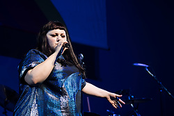 Beth Ditto performs at the Montreux Jazz Festival, Switzerland on July 03, 2017. Photo by Loona/ABACAPRESS.COM