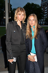 Sisters Edie Campbell and Olympia Campbell at the Tatler's English Roses 2017 party in association with Michael Kors held at the Saatchi Gallery, London England. 29 June 2017.
