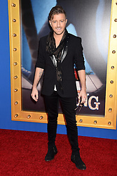 The contestants of 'The Voice' attend the 'Sing' world premiere held at the Microsoft Theatre in Los Angeles. 03 Dec 2016 Pictured: Billy Gilman. Photo credit: American Foto Features / MEGA TheMegaAgency.com +1 888 505 6342