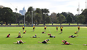 2020 NRL - 2020 Rabbitohs Training May 13th - Training,  COVID-19, 2020-05-13. Digital image by Grant Trouville � NRL Photos