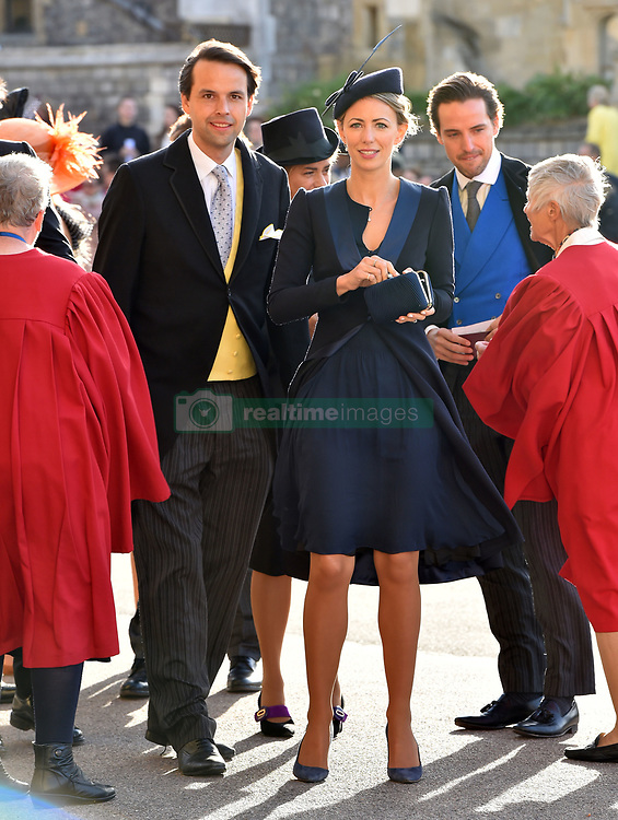 Guest arrive the wedding of Princess Eugenie to Jack Brooksbank at St George's Chapel in Windsor Castle. 12 Oct 2018 Pictured: guests. Photo credit: WPA POOL / MEGA TheMegaAgency.com +1 888 505 6342