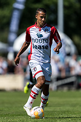 Luciano Slagveer of FC Emmen during the Friendly match between Heracles Almelo and FC Emmen at Sportcomplex 't Brook on July 14, 2018 in Bornerbroek, The Netherlands