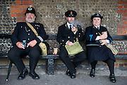 Police impersonators at 1940's nostalgic weekend, Lytham, Lancashire  August 2012