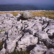 AJEM6C Limestone pavement Yorkshire Dales national park England