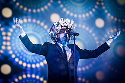 Neil Tennant of the Pet Shop Boys performs live at Bestival 2017 at Lulworth Castle - Wareham. Picture date: Sunday 10th September 2017. Photo credit should read: David Jensen/EMPICS Entertainment