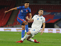 Football - 2022 FIFA World Cup - European Qualifying - Group I - England vs San Marino - Wembley Stadium<br /> <br /> Ollie Watkins of England scores goal no 5 on his debut<br /> <br /> Credit : COLORSPORT/ANDREW COWIE