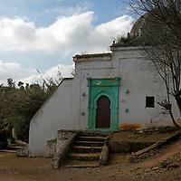 Afridca, Morocco, Rabat. Building at the Chellah.