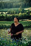 Portrait of wine educator Chevonne Ball