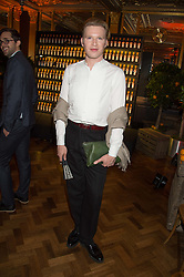 HENRY CONWAY at the Cointreau Creative Crew Launch at the Cafe Royal, Regent's Street, London on 27th October 2015.