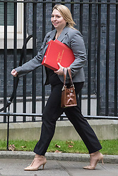 © Licensed to London News Pictures. 01/11/2016. London, UK. Secretary of State for Culture, Media and Sport Karen Bradley arrives on Downing Street for the weekly Cabinet meeting. Photo credit: Rob Pinney/LNP