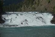 Bow River and Cascade Mountains, Banf, Banf National Park, Alberta, Canada