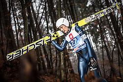 05.01.2014, Paul Ausserleitner Schanze, Bischofshofen, AUT, FIS Ski Sprung Weltcup, 62. Vierschanzentournee, Training, im Bild Yuta Watase (JPN) // Yuta Watase (JPN) during practice Jump of 62nd Four Hills Tournament of FIS Ski Jumping World Cup at the Paul Ausserleitner Schanze, Bischofshofen, Austria on 2014/01/05. EXPA Pictures © 2014, PhotoCredit: EXPA/ JFK