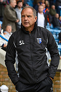 Gillingham FC manager Steve Lovell during the EFL Sky Bet League 1 match between Gillingham and Peterborough United at the MEMS Priestfield Stadium, Gillingham, England on 22 September 2018. Picture by Martin Cole
