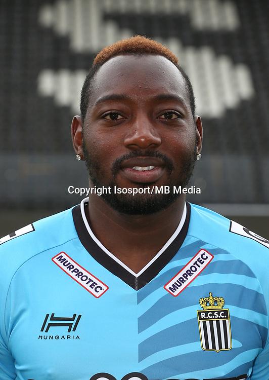 20170715 - Charleroi, Belgium / Photoshoot Sporting Charleroi 2017 - 2018 / <br /> Parfait MANDANDA<br /> Picture Vincent Van Doornick / Isosport