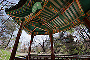 Changdeokgung Palace. Biwon (Huwon), the secret garden.