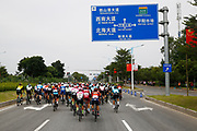 Landscape and peloton during the Tour of Guangxi 2018, stage 1, Beihai - Beihai 107,4 km on October 16, 2018 in Beihai, China - Photo Luca Bettini / BettiniPhoto / ProSportsImages / DPPI