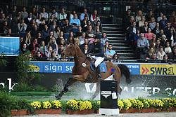 Zerulla Annika-Frederike, (GER), Riviera<br /> Indoor Derby<br /> Stuttgart - German Masters 2015<br /> © Hippo Foto - Stefan Lafrentz
