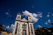 Barra Longa_MG, Brasil...Igreja Sao Jose, Matriz da cidade...Sao Jose  mother church in Barra Longa...Foto: LEO DRUMOND / NITRO.